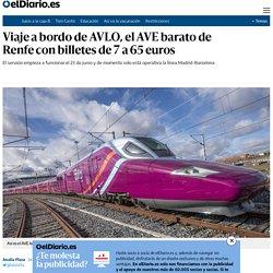 Viaje a bordo de AVLO, el AVE barato de Renfe con billetes de 7 a 65 euros