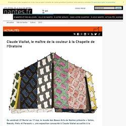 Art : exposition Claude Viallat jusqu'au 17/05 à Nantes