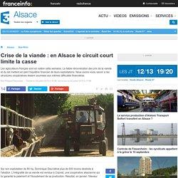 FRANCE 3 ALSACE 25/07/15 Crise de la viande : en Alsace le circuit court limite la casse.
