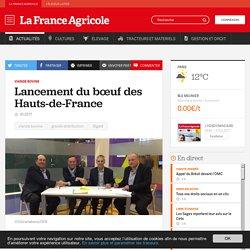 Viande bovine : Lancement du bœuf des Hauts-de-France