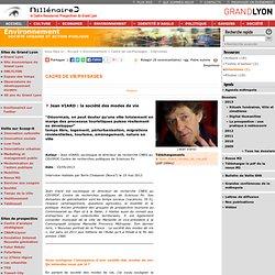 Jean VIARD : la société des modes de vie