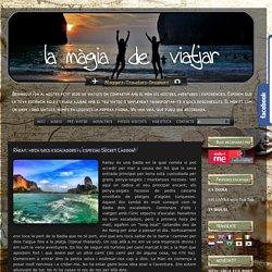 La magia de viatjar: Railay, meca dels escaladors i l'especial Secret Lagoon!