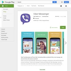 Viber : Free Calls & Messages - Android Apps on Google Play