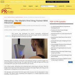 Vibrasling - The World's First Sling Trainer With Vibration