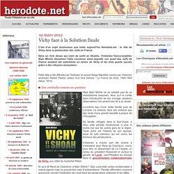 19 mars 2012 - Vichy face à la Solution finale