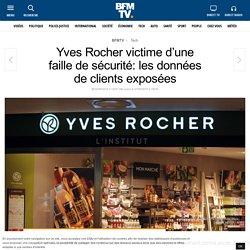 Yves Rocher victime d'une faille de sécurité: les données de clients exposées