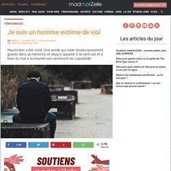 Je suis un homme victime de viol : témoignage sur madmoiZelle.com