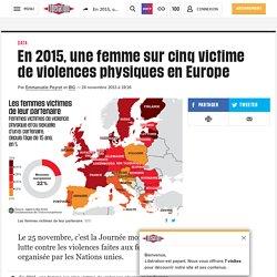 En2015, une femme surcinq victime de violences physiques en Europe