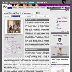 Les victimes civiles de la guerre de 1914-1918