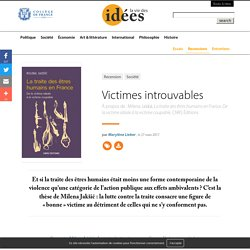 Victimes introuvables
