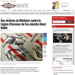 Des victimes du Mediator contre la Légion d'honneur de l'ex-ministre Henri Nallet