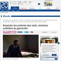 Rwanda: les enfants des viols, victimes oubliées du génocide