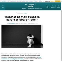 Victimes de viol: quand la parole se libère-t-elle ?
