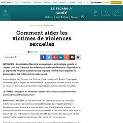 Comment aider les victimes de violences sexuelles