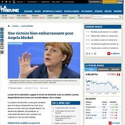 Une victoire bien embarrassante pour Angela Merkel