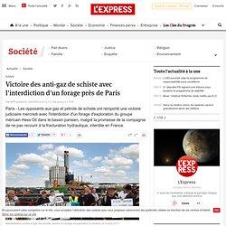 Victoire des anti-gaz de schiste avec l'interdiction d'un forage près de Paris