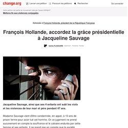 Victoire ! François Hollande gracie #JacquelineSauvage