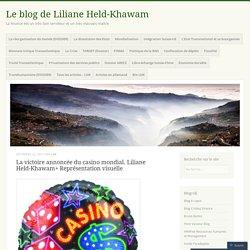 La victoire annoncée du casino mondial. Liliane Held-Khawam+ Représentation visuelle