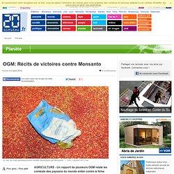 OGM: Récits de victoires contre Monsanto