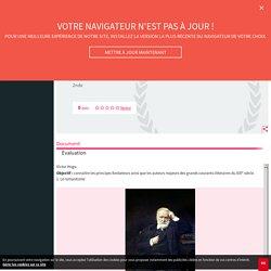 Victor Hugo - Cours - Fiches de révision