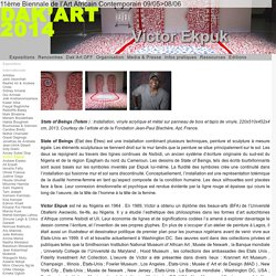Victor Ekpuk - DAK'ART 2014