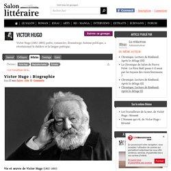 "Victor Hugo (1ers parag. : sa famille, son enfance ""littéraire"" )"