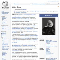 Victor Hugo wikipedia