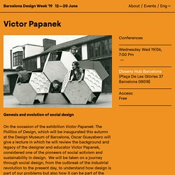 Victor Papanek - Barcelona Design Week
