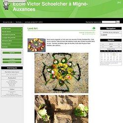 Land Art - Ecole Victor Schoelcher à Migné-Auxances