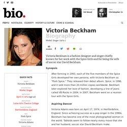 Victoria Beckham - Model, Singer