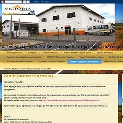 VICTÓRIA MOTOR HOMES: Dicas de Campismo e Caravanismo