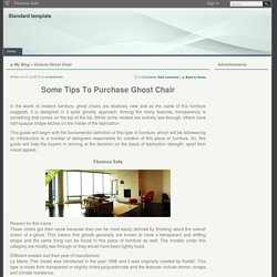 Louis Ghost Chair Best Price