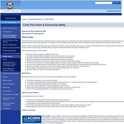 Victoria Police - Online Safety