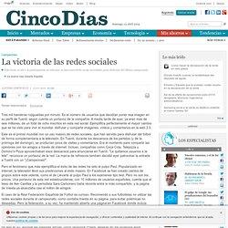 La victoria de las redes sociales en Cincodias.com