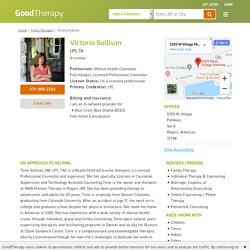 Victoria Sullivan LPC, TA, Mental Health Counseling in Rogers, Arkansas, 72758