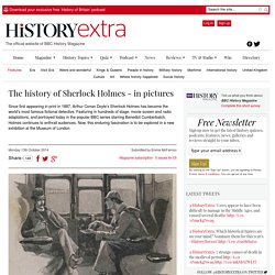 From Victorian fiction to Benedict Cumberbatch: the history of Sherlock Holmes in pictures