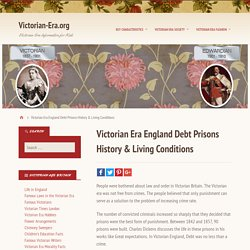 Victorian Era England Debt Prisons History & Living Conditions