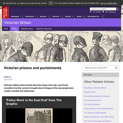 Victorian prisons and punishments