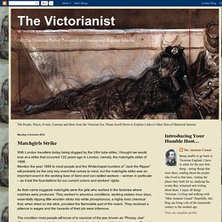 Website 1: The Victorianist: Matchgirls Strike