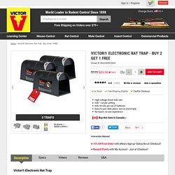 Victor® Electronic Rat Trap 3-Pack Bundle