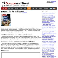 A victory for the 99% in Ohio