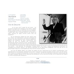 Vida y Obra. Web Oficial de Rafael Alberti