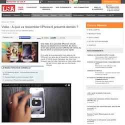 Vidéo : A quoi va ressembler l'iPhone 6...