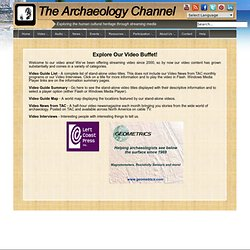 The Archaeology Channel Video Guide