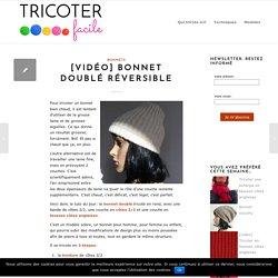 [vidéo] Bonnet doublé réversible