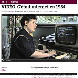 VIDÉO. C'était internet en 1984