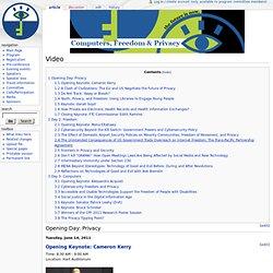 Video - CFPWiki