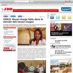 VIDEO. Royal charge Valls dans le dossier des boues rouges