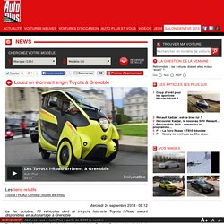 VIDEO CITELIB BY HA:MO TOYOTA I ROAD A GRENOBLE