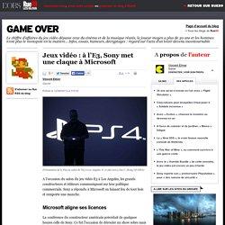 Jeux vidéo: à l'E3, Sony met une claque à Microsoft